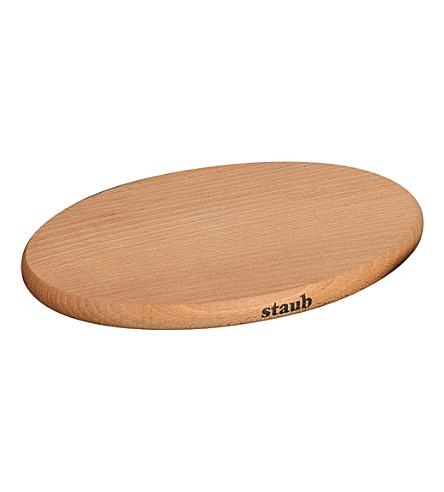 STAUB Magnetic wooden trivet 29cm