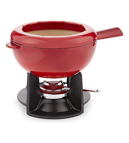 STAUB Cast iron fondue set 20cm