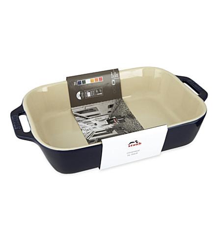 STAUB Ceramic oven dish 27cm