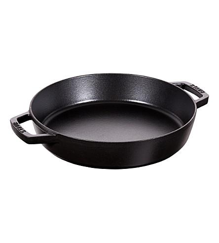STAUB Double handle frying pan 34cm
