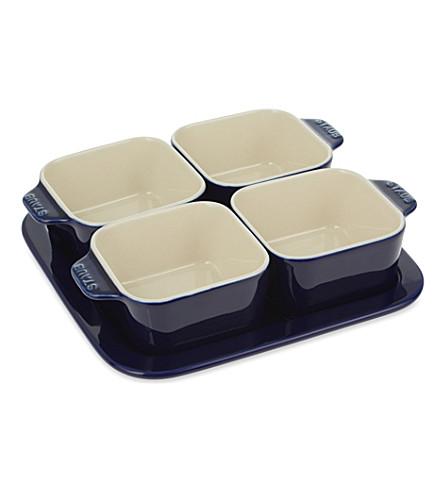 STAUB Ceramic appetiser set