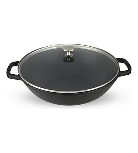 STAUB Cast iron wok 30cm