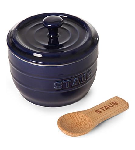 STAUB Ceramic salt crock