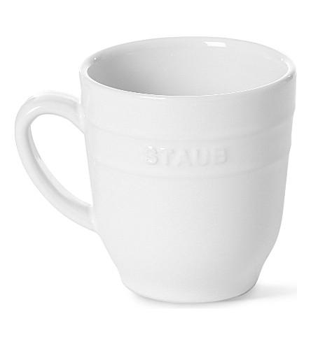 STAUB Glazed ceramic mug