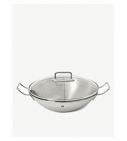 ZWILLING J.A HENCKELS Stainless steel wok 32cm
