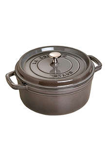 ZWILLING J.A HENCKELS Round cast iron cocotte 24cm