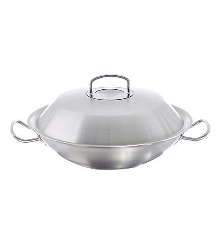 fissler original pro stainless steel wok. Black Bedroom Furniture Sets. Home Design Ideas
