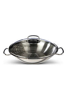 FISSLER Original pro wok with glass lid 35cm