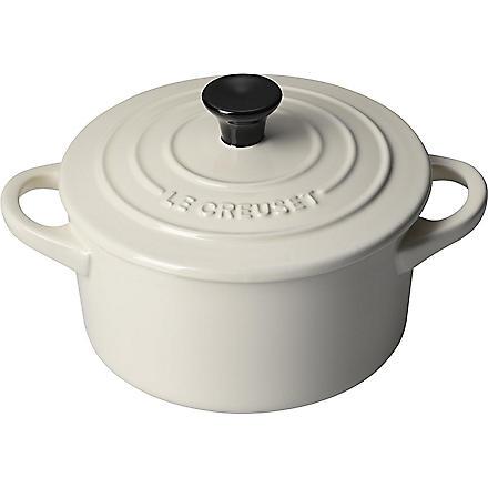 LE CREUSET Stoneware casserole dish 14cm (Almond