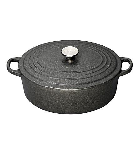LE CREUSET Cast iron omelette pan 20cm (Slate