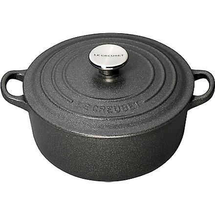 LE CREUSET Cast iron casserole dish 20cm (Slate