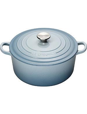 LE CREUSET Cast iron casserole dish 24cm