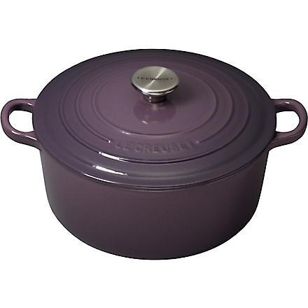 LE CREUSET Cast iron casserole dish 26cm (Cassis