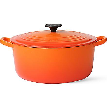 LE CREUSET Cast iron casserole dish 26cm (Volcanic