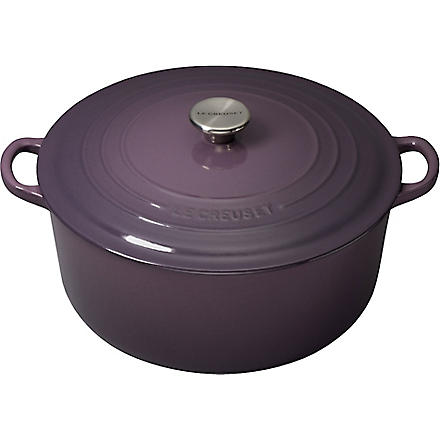 LE CREUSET Cast iron casserole dish 28cm (Cassis