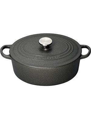 LE CREUSET Cast iron casserole dish 25cm