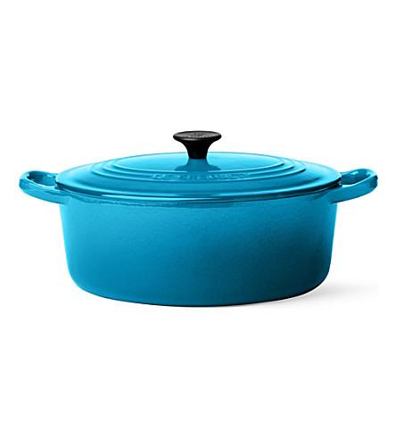 LE CREUSET Cast iron casserole dish 25cm (Teal
