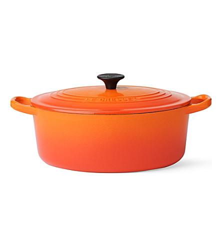 LE CREUSET Cast iron casserole dish 25cm (Volcanic