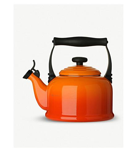 LE CREUSET Kone stove-top enamel kettle 2.1l (Volcanic