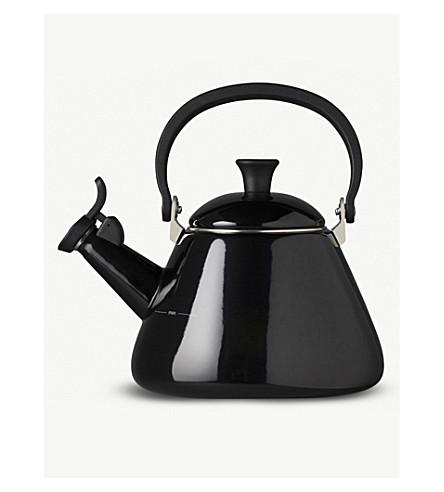 LE CREUSET Kone kettle (Black