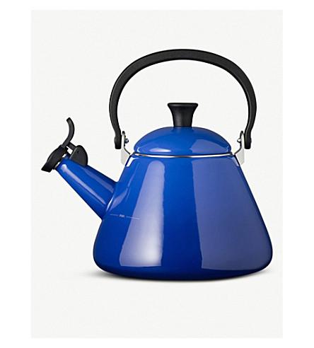 LE CREUSET Kone stove-top enamel kettle 1.6l (Marseille blue