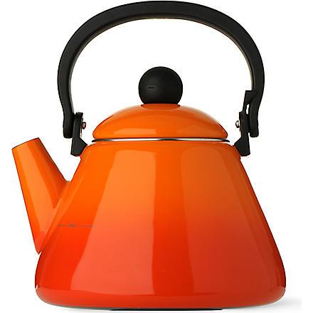 LE CREUSET Kone kettle (Volcanic