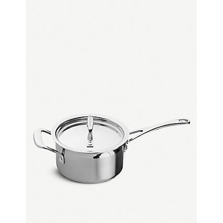 LE CREUSET 3-ply Stainless Steel saucepan with lid 16cm