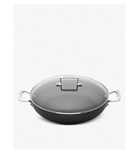 LE CREUSET Toughened Non-Stick shallow casserole pan 30cm