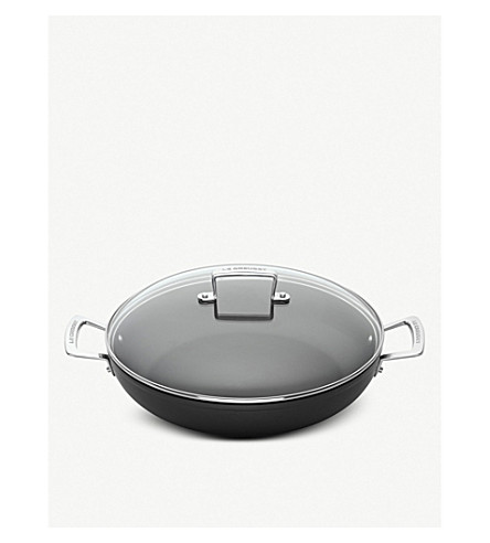 LE CREUSET 钢化不粘浅砂锅30厘米