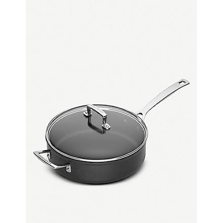 LE CREUSET Toughened Non-Stick sauté pan with lid 26cm
