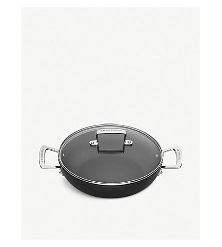 LE CREUSET Toughened Non-Stick shallow casserole pan 24cm