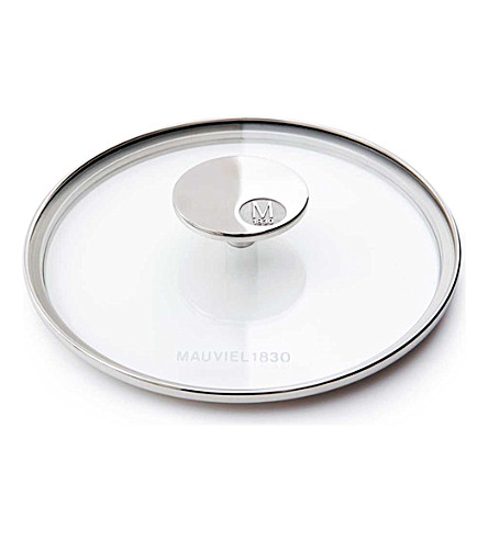 MAUVIEL Glass saucepan lid 24cm