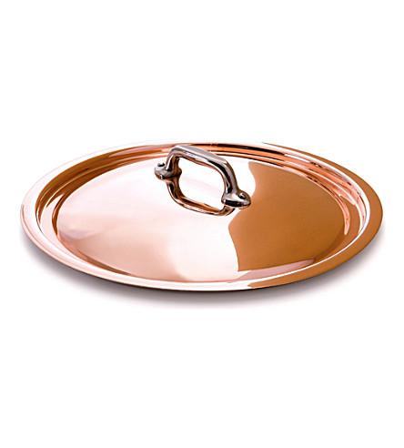 MAUVIEL M'150 copper saucepan lid 24cm