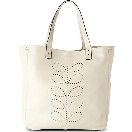 ORLA KIELY Exclusive White Christmas willow bag