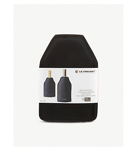 LE CREUSET Wine cooler sleeve (Black