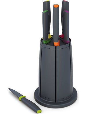 JOSEPH JOSEPH Elevate six-piece knife carousel set