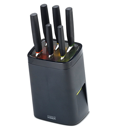 JOSEPH JOSEPH Lockblock 6-piece knife block set