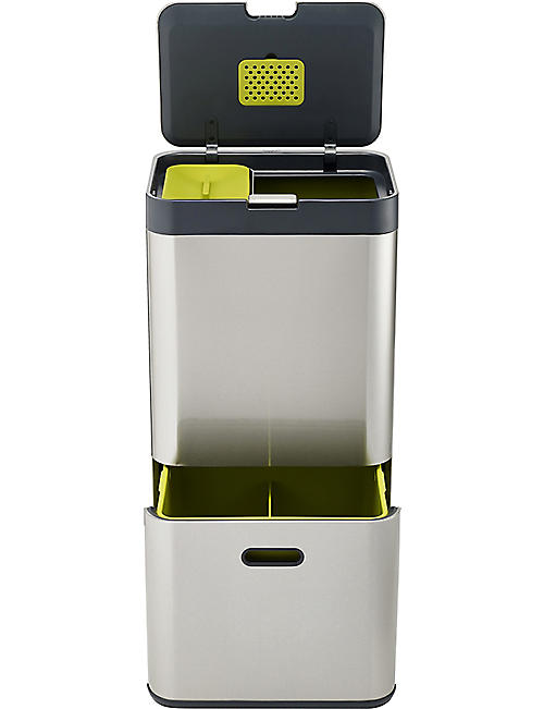 JOSEPH JOSEPH Totem 60l Stainless Steel Disposal Unit