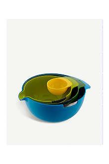 JOSEPH JOSEPH Nest multicolour mixing bowls