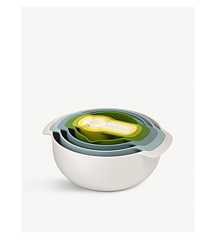JOSEPH JOSEPH Nest9 plus bowl set