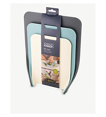 JOSEPH JOSEPH Nest Chop chopping boards set of three
