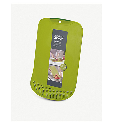 JOSEPH JOSEPH Chop&Drain chopping board and colander