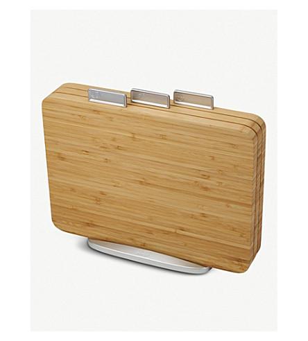 JOSEPH JOSEPH Index bamboo three-piece chopping board set