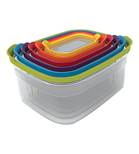 JOSEPH JOSEPH Nest set of six storage containers