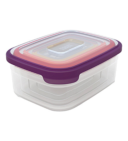 JOSEPH JOSEPH Nest set of four storage containers