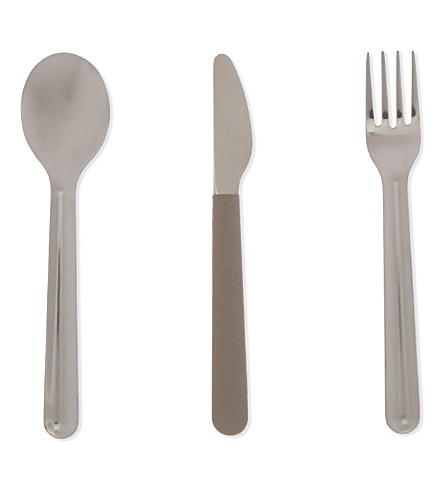 JOSEPH JOSEPH GoEat ™ space-saving stainless-steel cutlery set - grey