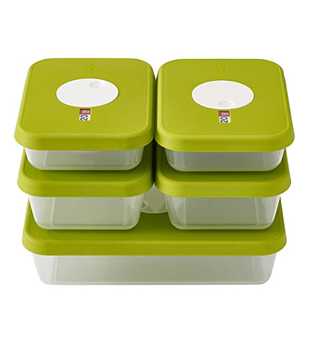 JOSEPH JOSEPH Dial 5-piece food storage set