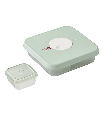 JOSEPH JOSEPH Set of 5 dial datable baby food containers 9-12 months
