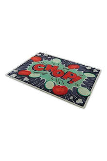 JOSEPH JOSEPH Comic glass chopping board