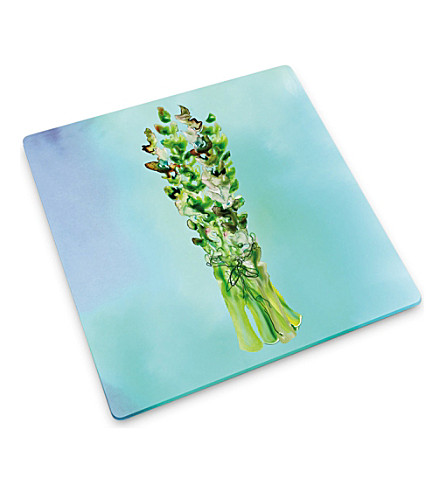 JOSEPH JOSEPH Asparagus design watercolour 30x30